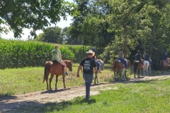 Horseback Riding in Starved Rock Country